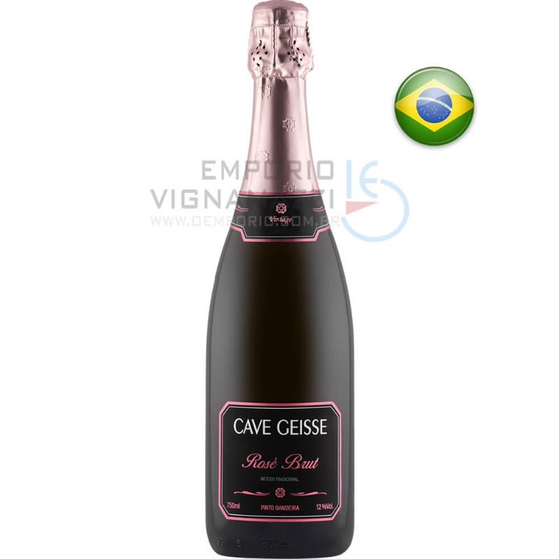 Foto Espumante Cave Geisse Rose 750ml