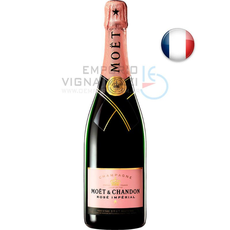 Foto Champagne Moet Chandon Rose Imperial 750ml