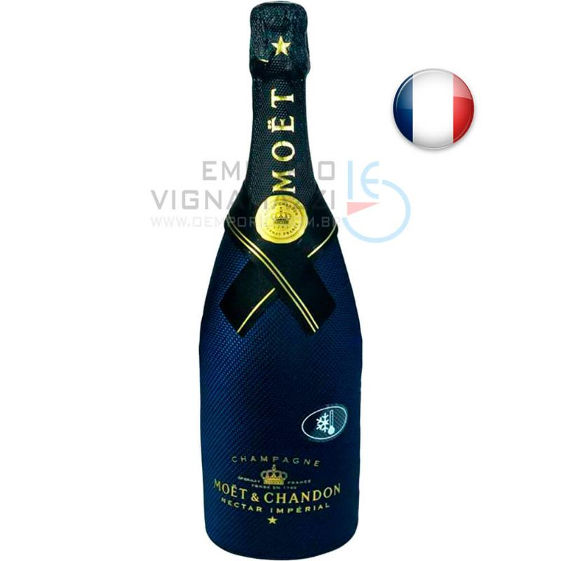 Foto Champagne Moet Chandon Nectar Imperial Diamont Suit 750ml