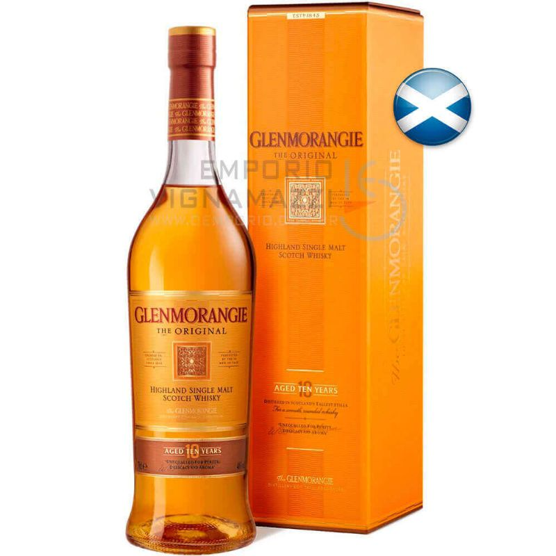 Foto Whisky Glenmorangie Original 10 Anos 750ml