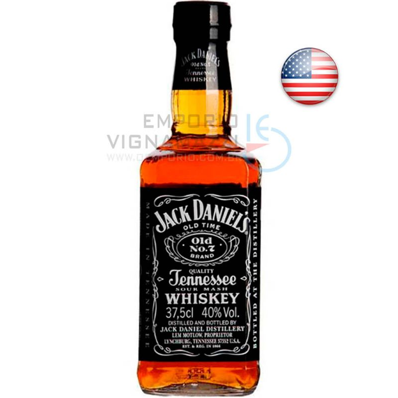 Foto Whisky Jack Daniels 375ml