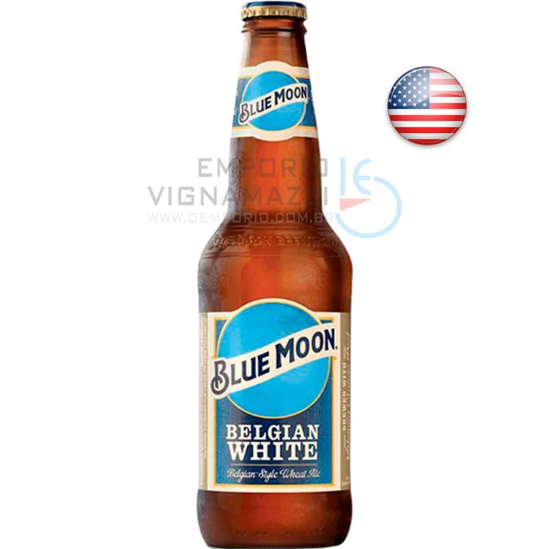 Foto Cerveja Blue Moon Belgian White 355ml