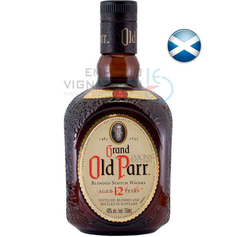 Foto Whisky  Old Parr 12 Anos 1L