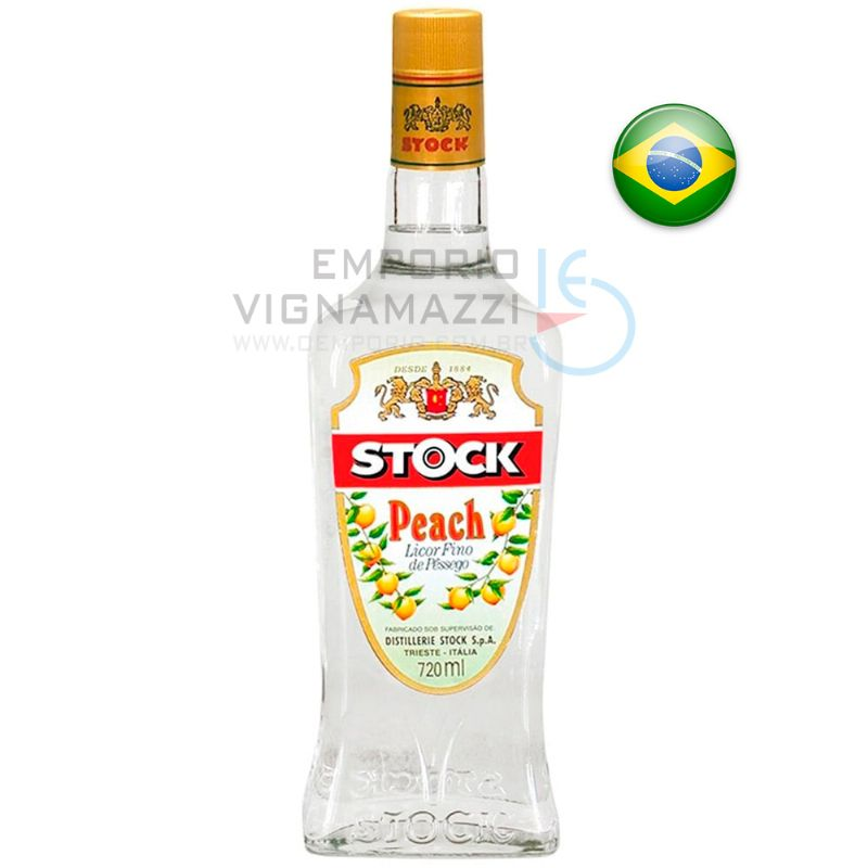 Foto Licor Nacional Stock Pêssego 720ml