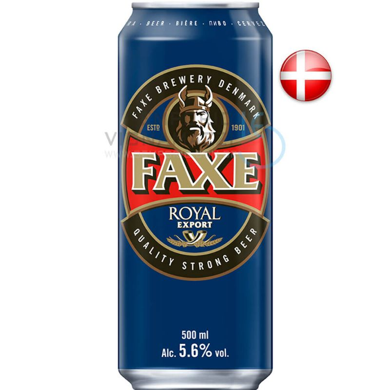 Foto Cerveja Faxe Royal Export 500ml