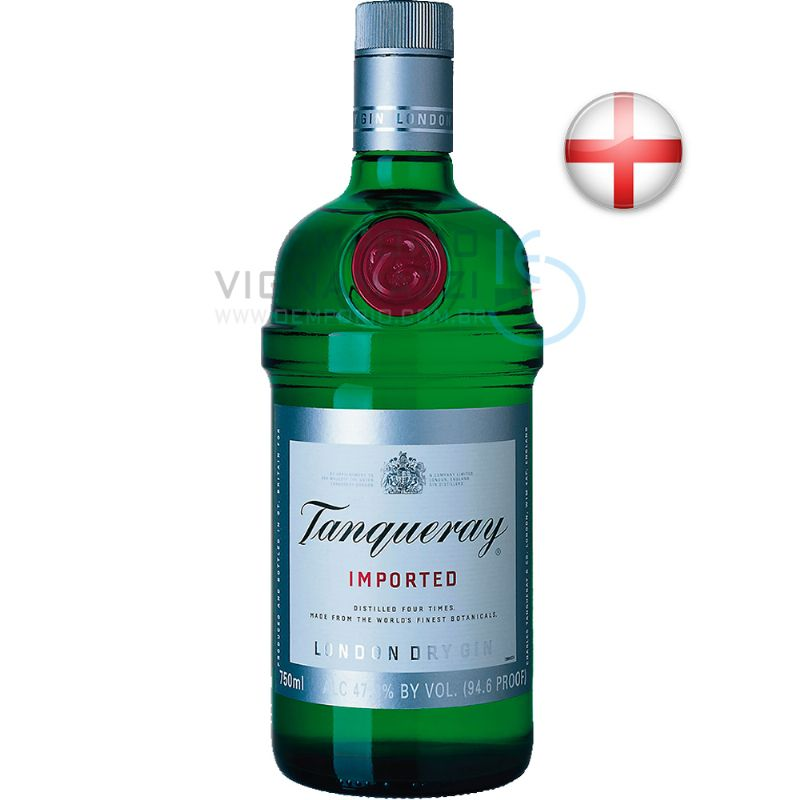 Foto Gin Tanqueray 750ml