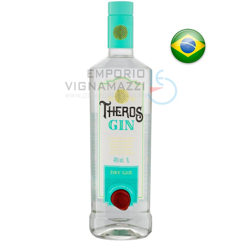 Foto Gin Theros Dry 1 litro
