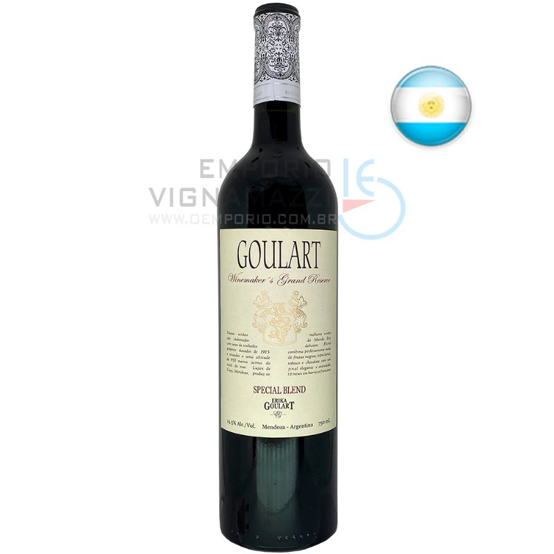 Foto Vinho Goulart WineMakers Grand Reserve Special Blend 750ml