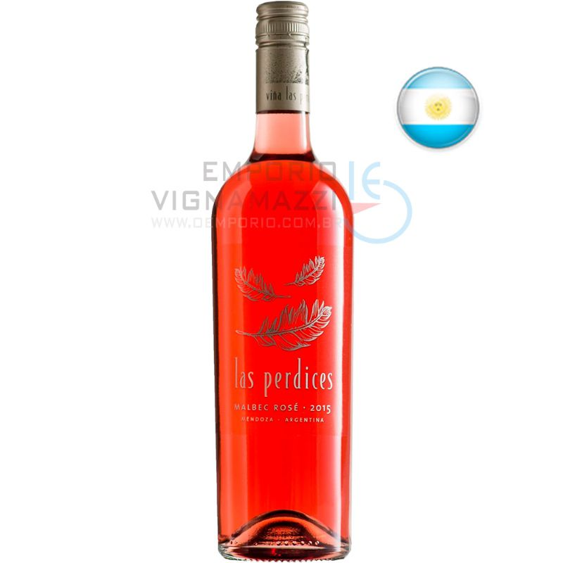 Foto Vinho Las Perdices Malbec Rose 750ml