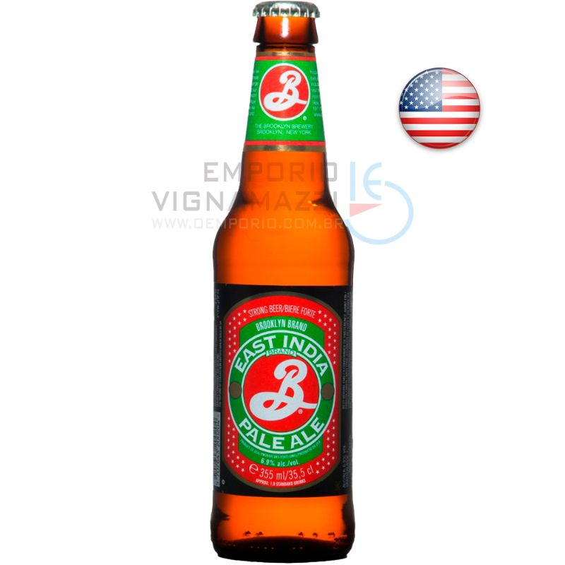 Foto Cerveja Brooklyn East India Pale Ale 355ml