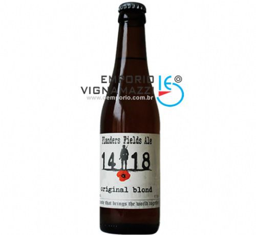 Foto Cerveja Belga Flanders Fields Ale 14-18 Original Blond 330ml