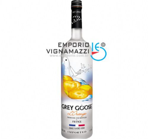 Foto Vodka Francesa Grey Goose Lorange 750ml