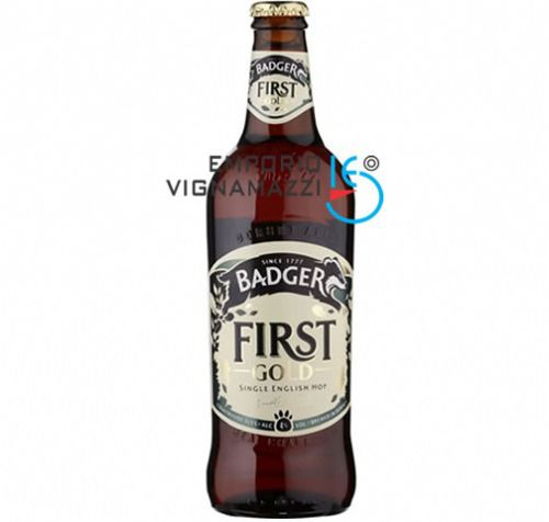 Foto Cerveja Inglesa Badger First Gold 500ml