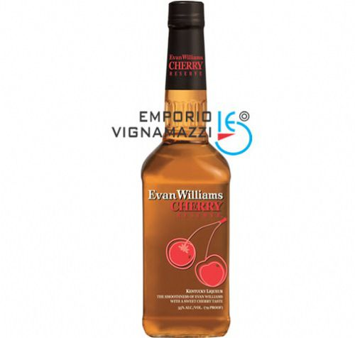 Foto Licor Americano Evan Williams Cereja Reserva 750ml