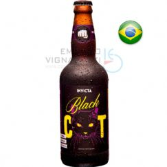 Foto Cerveja Invicta Black Cat India Black Ale 500ml