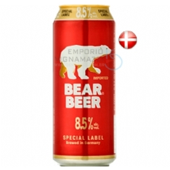 Foto Cerveja Bear Beer 8,5 Special Label 500ml