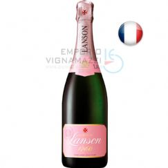 Foto Champagne Lanson Rose Label 750ml