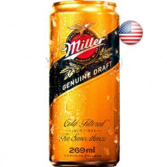Foto Cerveja Americana Miller Genuine Draft 269ml