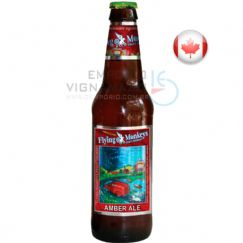 Foto Cerveja Flying Monkeys Amber Ale 355ml