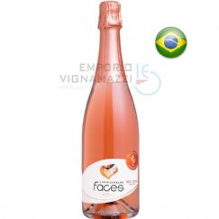 Foto Espumante Faces Brut Rose 750ml