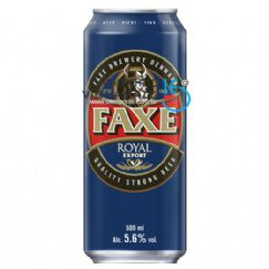 Foto Cerveja Dinamarquesa Faxe Royal Export 500ml