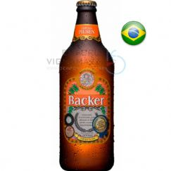 Foto Cerveja Backer Pilsen 600ml