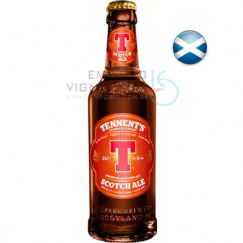Foto Cerveja Tennents Strong Scotch Ale 330ml