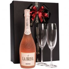Foto Kit Espumante Alvisa La Brisa Rose 750ml - 2019