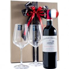 Foto Kit Vinho Chateau Jalousie Bordeaux Superieur AOC 750ml - 2018 ref 326902
