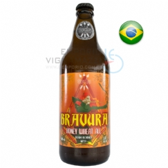 Foto Cerveja Flecha Bravura Honey Wheat Ale 600 ml
