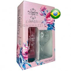 Foto Gin Flowers Rose KIT com 1 Taça