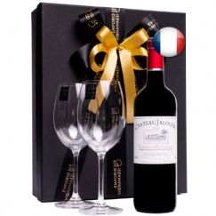 Foto Kit Vinho Francês Bordeaux Superior Chateau Jalousie - 2020