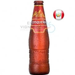 Foto Cerveja Cusqueña Roja Red Lager 330ml