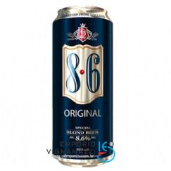 Foto Cerveja 8.6 Original Blond Beer 500ml
