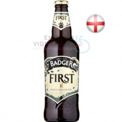 Foto Cerveja Badger First Gold 500ml