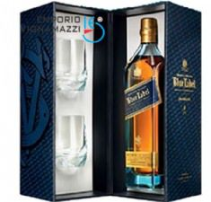 Foto Whisky J. W. Blue Label Cristal Pack 750ml