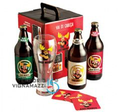 Foto Kit Cerveja Bad Moose 3 gf 600ml + 1 Copo