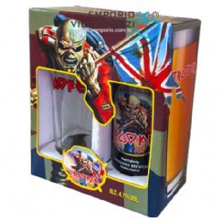 Foto Kit Cerveja Iron Maiden Trooper 1Lt e 1 Cp