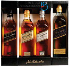 Foto Whisky Johnnie Walker Collection