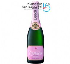Foto Champagne Francesa Lanson Rose Label 750ml