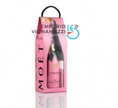 Foto Champagne Moet Chandon Rose Imperial Love Bag 750ml