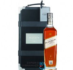 Foto Whisky J.W. Platinum Private Case 750ml