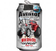 Foto Cerveja Americana Aviator Wide Open Red 355ml