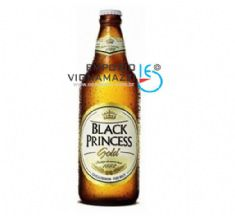 Foto Cerveja Nacional Black Princess Gold 600ml