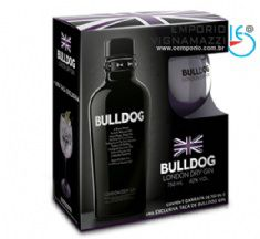 Foto Kit Gin Ingles Bulldog com Taça 750ml