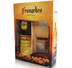 Foto Kit Licor Italiano Frangelico 700ml Com Vela