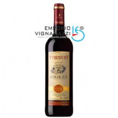 Foto Vinho Frances Yvecourt Bordeaux 750ml